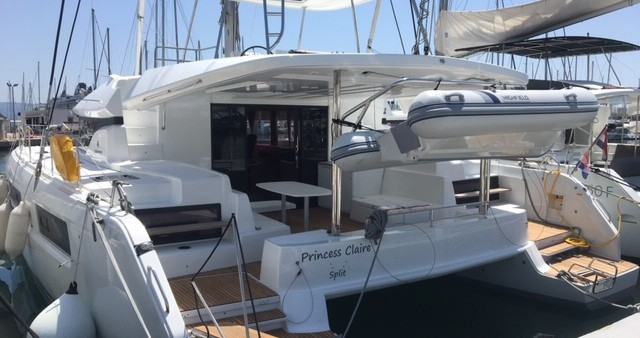 Rental Catamaran in Dubrovnik - Lagoon Lagoon 50