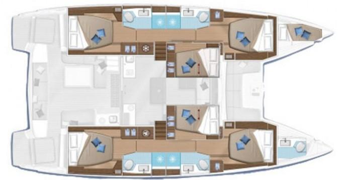 Boat rental Dubrovnik cheap Lagoon 50