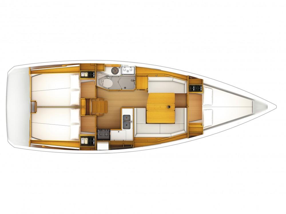 Rent a Jeanneau Sun Odyssey 389 Split