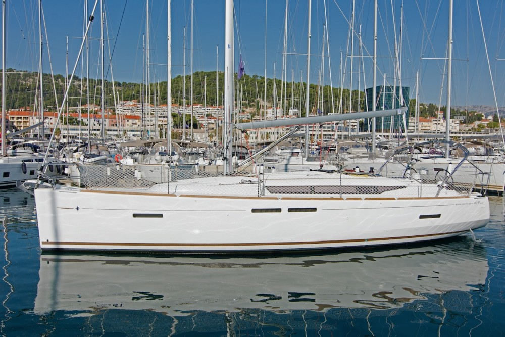 Jeanneau Sun Odyssey 419 between personal and professional Split