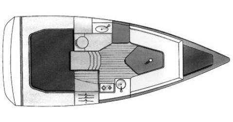 Boat rental Biograd na Moru cheap Sun Fast 26