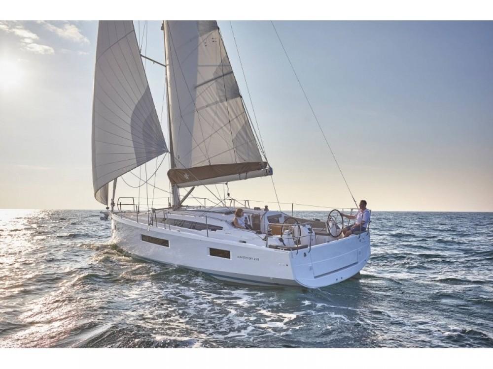 Boat rental  cheap Sun Odyssey 410