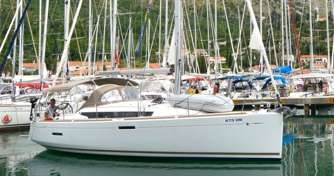 Jeanneau Sun Odyssey 389 between personal and professional Dubrovnik