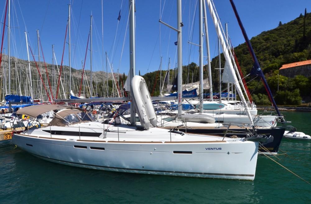 Jeanneau Sun Odyssey 449 between personal and professional ACI Marina Dubrovnik