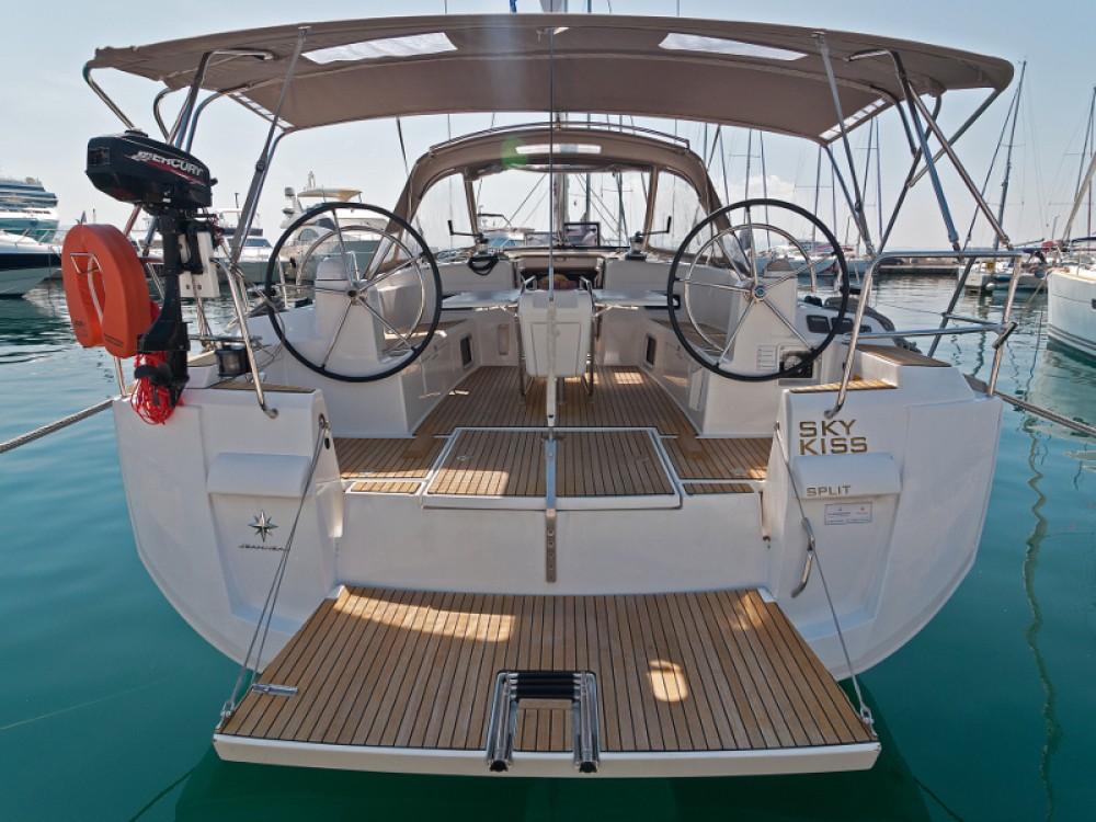 Rental yacht ACI Marina Split - Jeanneau Sun Odyssey 509 on SamBoat