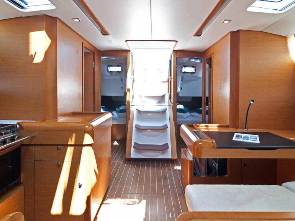 Jeanneau Sun Odyssey 509 between personal and professional ACI Marina Split