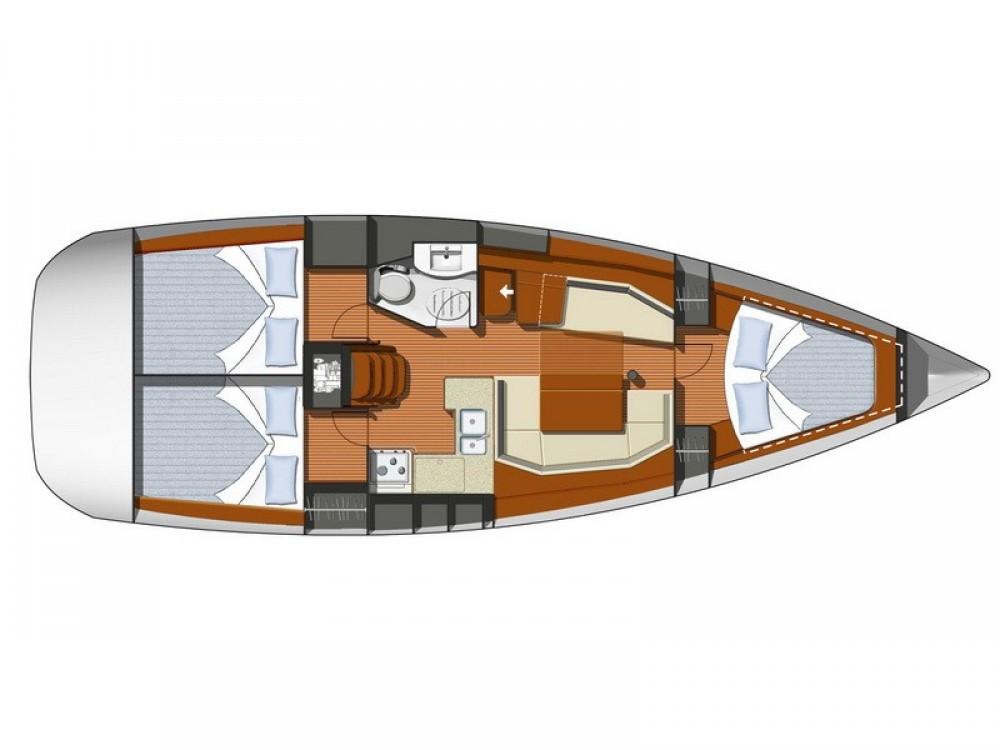 Boat rental Split cheap Sun Odyssey 39i