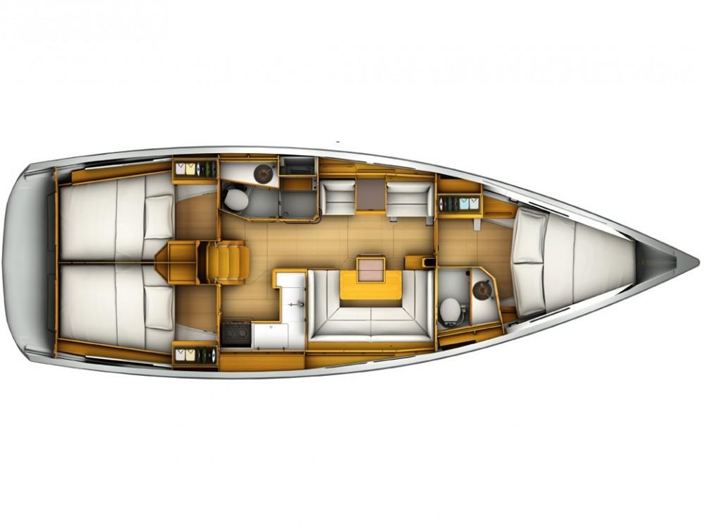 Boat rental Komolac cheap Sun Odyssey 419