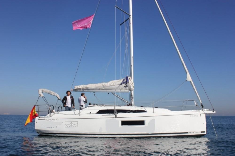 Rental yacht Valencia - Bénéteau Oceanis 30.1 on SamBoat