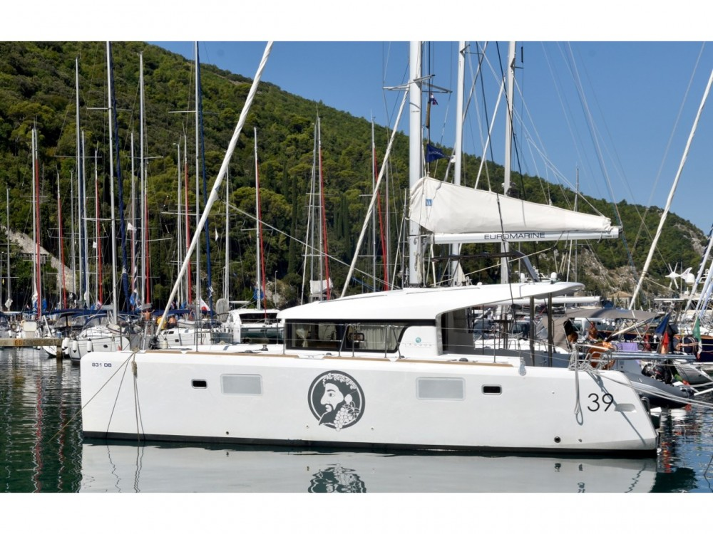 Hire Catamaran with or without skipper Lagoon ACI Marina Dubrovnik