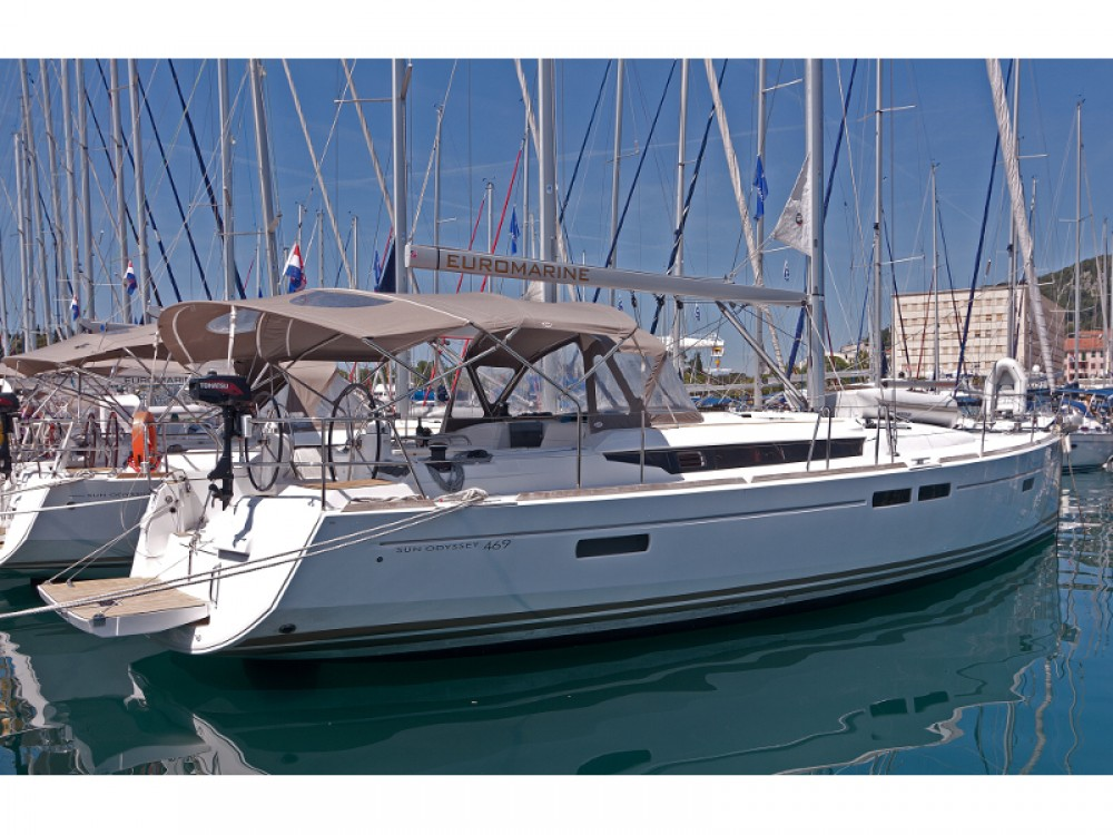Boat rental Jeanneau Sun Odyssey 469 in  on Samboat