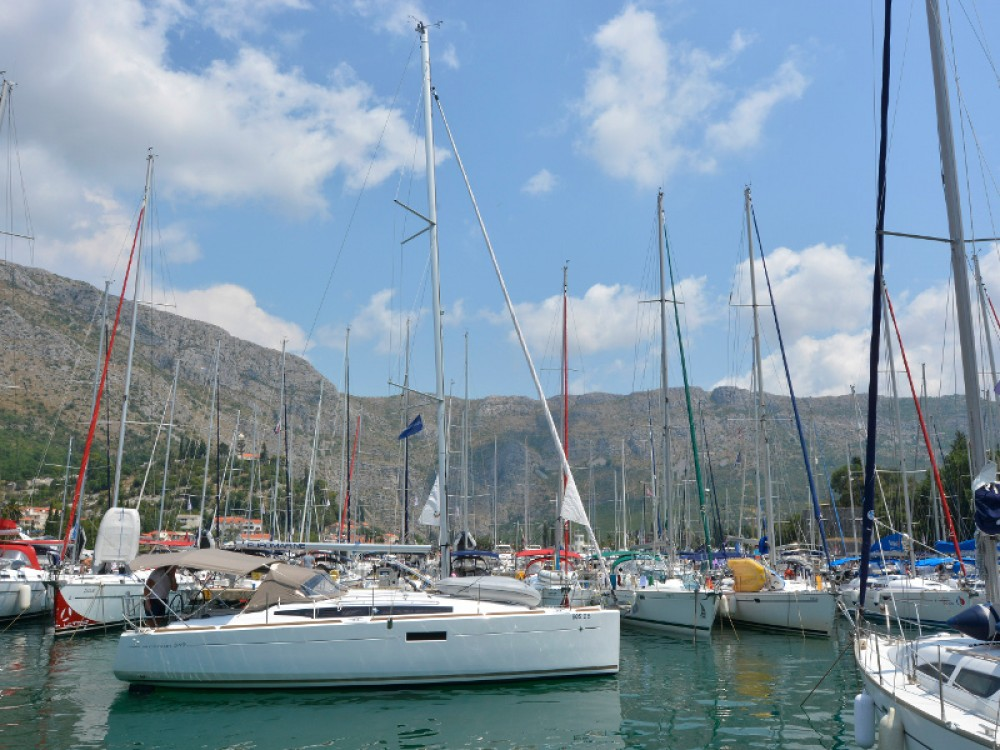 Jeanneau Sun Odyssey 349 between personal and professional ACI Marina Dubrovnik