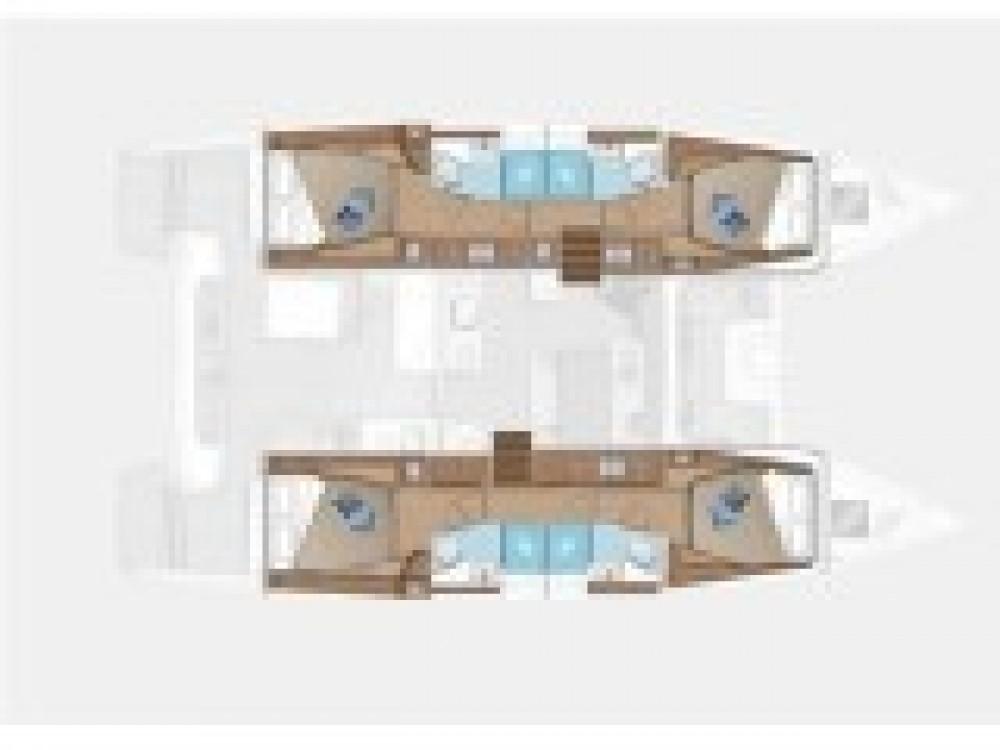 Boat rental Sukošan cheap Lagoon 46