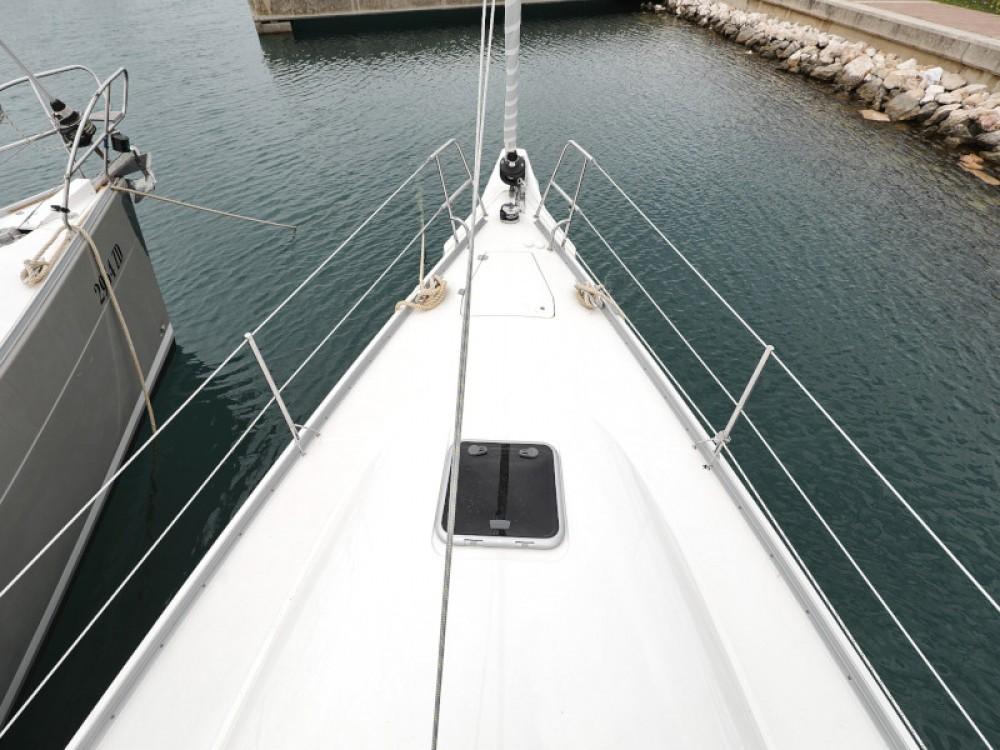 Rental Sailboat Cobra with a permit