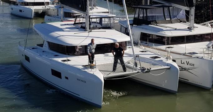 Boat rental Sukošan cheap Lagoon 42