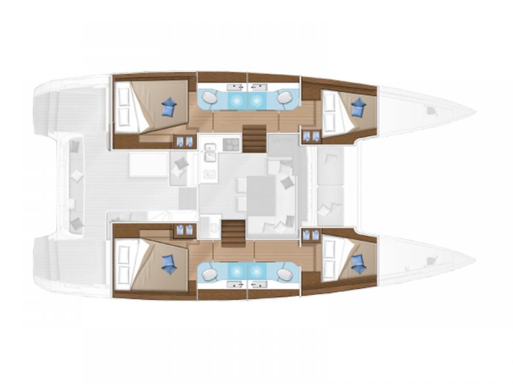 Rental yacht Sukošan - Lagoon Lagoon 40 on SamBoat