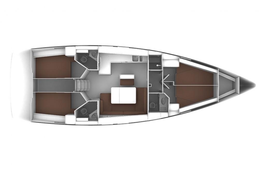 Boat rental ACI Marina Trogir cheap Bavaria Cruiser 46