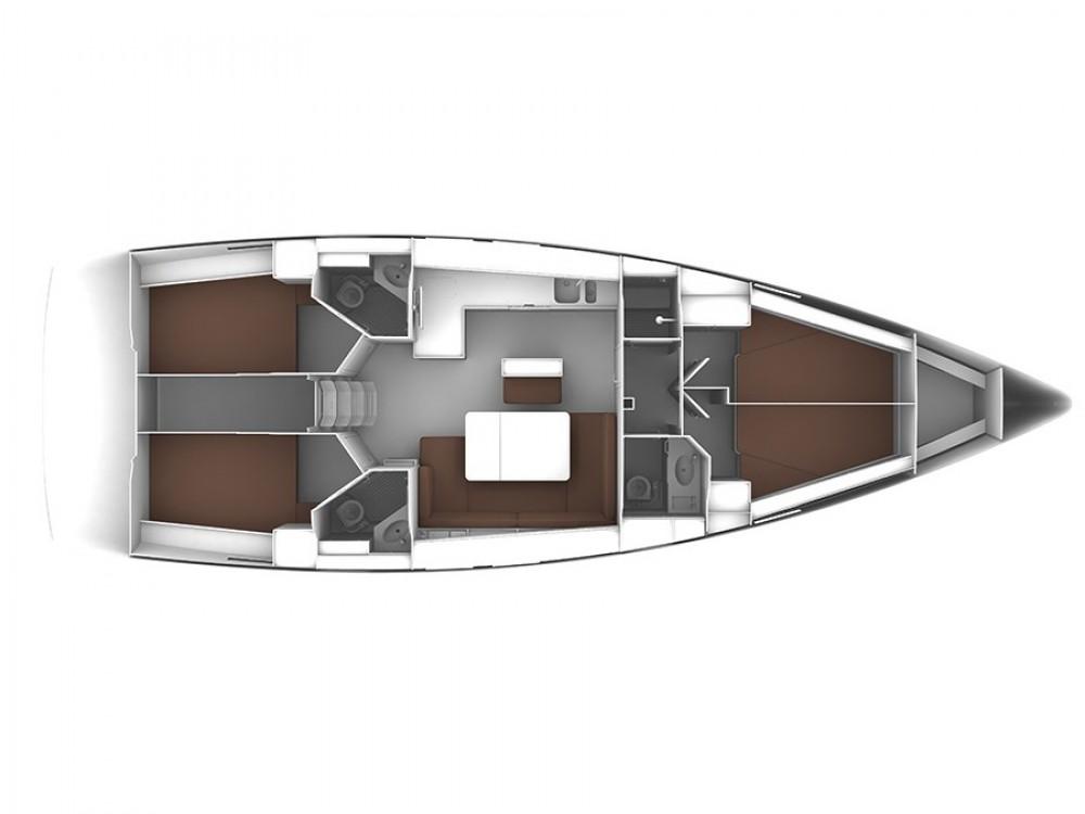 Bavaria Bavaria Cruiser 46 between personal and professional ACI Marina Trogir