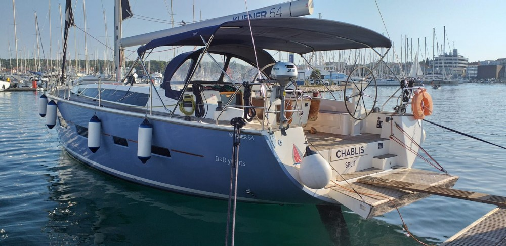 Hire Sailboat with or without skipper D&d Grad Biograd na Moru