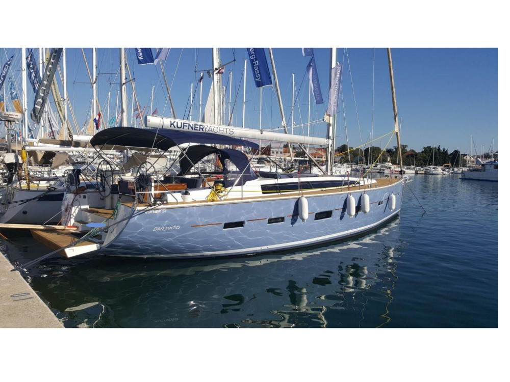Rental Sailboat in Biograd na Moru - D&d D&D Kufner 54.2