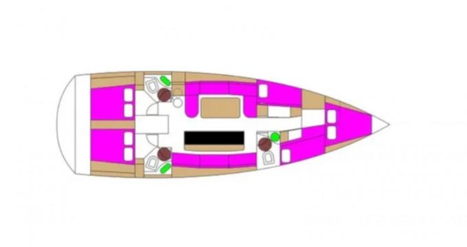 Boat rental Trogir cheap D&D Kufner 50