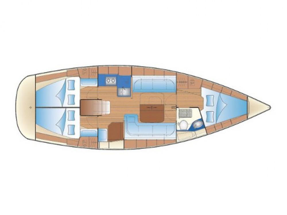 Hire Sailboat with or without skipper Bavaria Grad Biograd na Moru