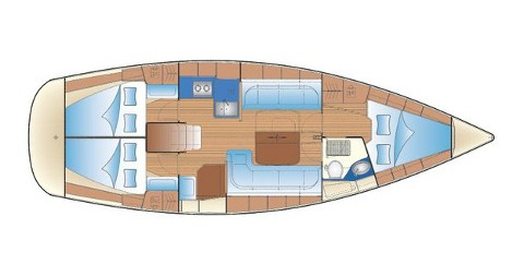 Rental yacht Biograd na Moru - Bavaria Bavaria 38 Cruiser on SamBoat