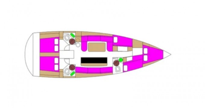Hire Sailboat with or without skipper D&D Yacht Biograd na Moru