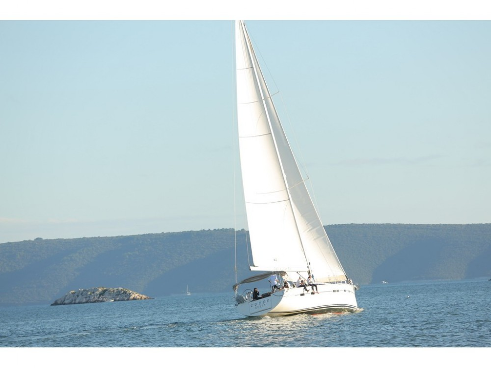 Boat rental Baška Voda cheap D&D Kufner 54.2