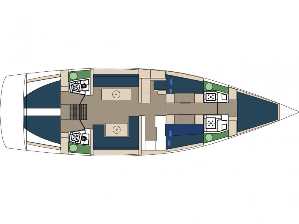 Rental Sailboat in Trogir - D&d D&D Kufner 54.2