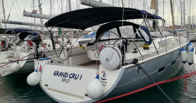 Boat rental Biograd na Moru cheap D&D Kufner 54.2
