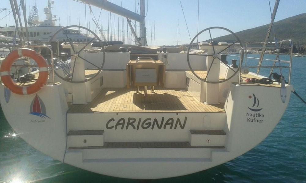 Boat rental ACI Marina Trogir cheap D&D Kufner 54.1