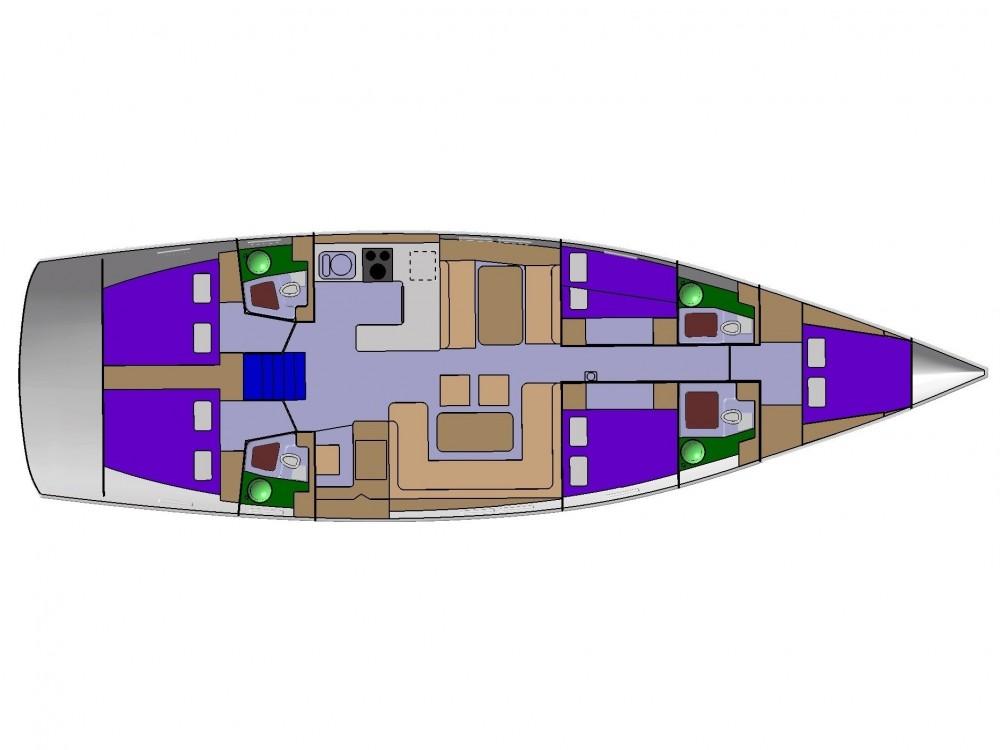 Boat rental D&d D&D Kufner 54.1 in ACI Marina Trogir on Samboat