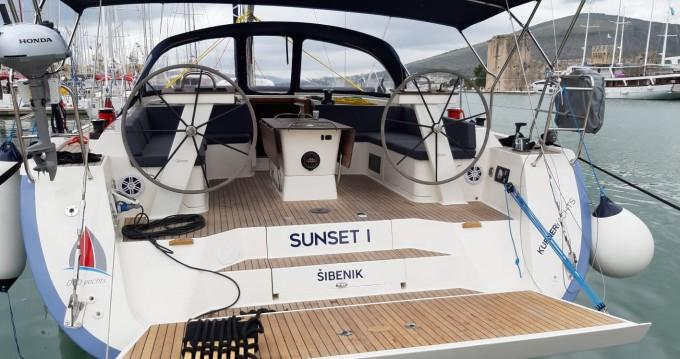 Boat rental Biograd na Moru cheap D&D Kufner 50