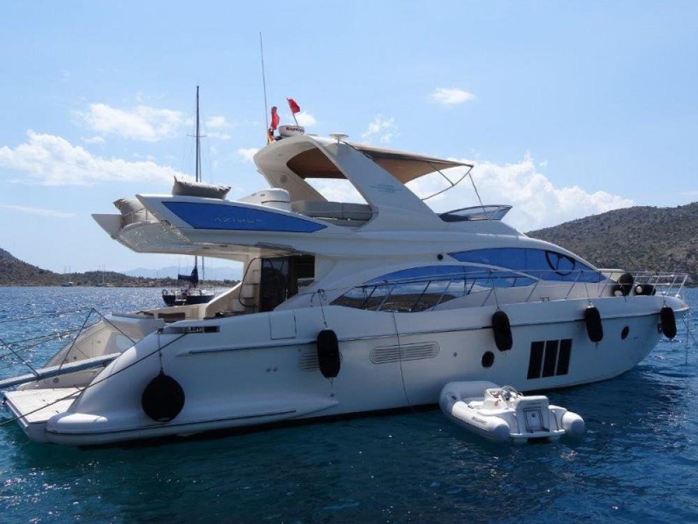 Rental Motor boat in Šibenik - Azimut Azimut 58