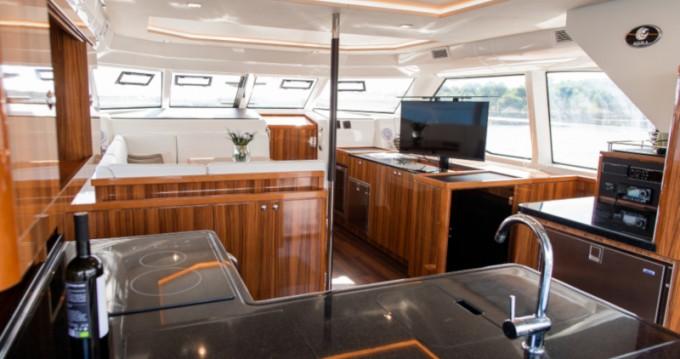 Boat rental Šibenik cheap Aquila 44 Power catamaran
