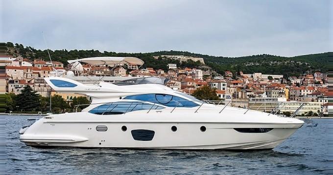 Boat rental Šibenik cheap Azimut 47 Fly