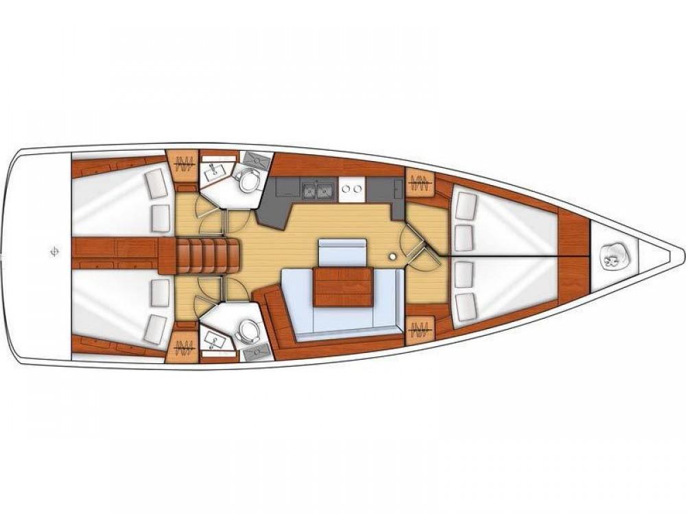 Rental yacht PREVEZA MARINA - Bénéteau Oceanis 45 on SamBoat