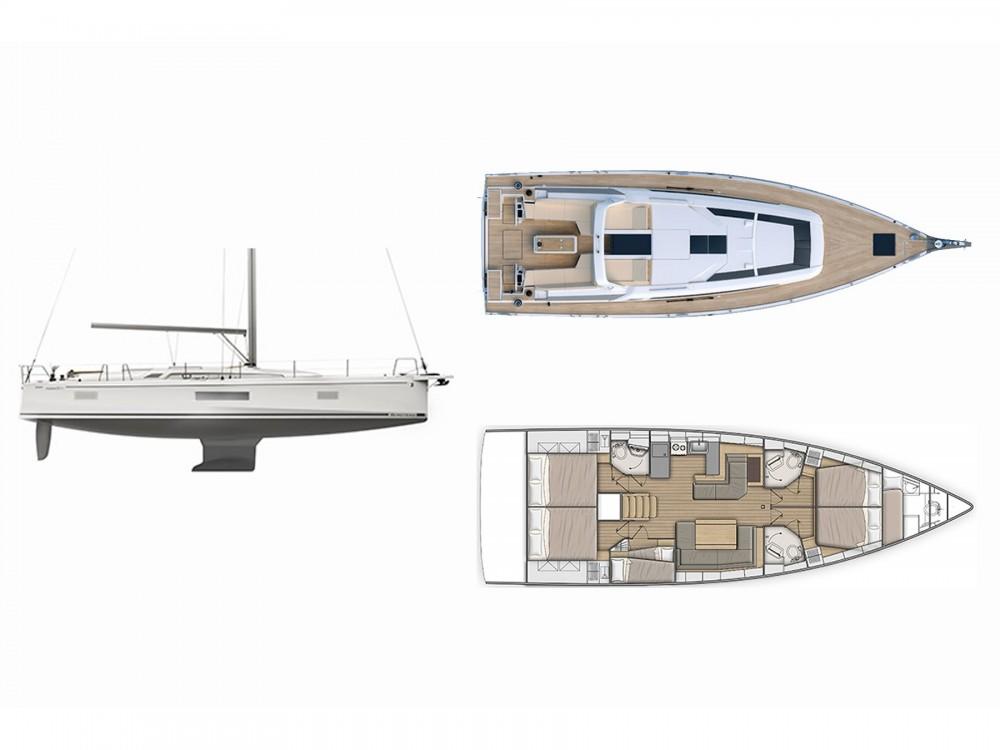 Rental yacht Olympic Marina - Bénéteau Oceanis 51.1 on SamBoat