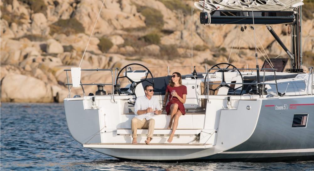 Boat rental Olympic Marina cheap Oceanis 51.1