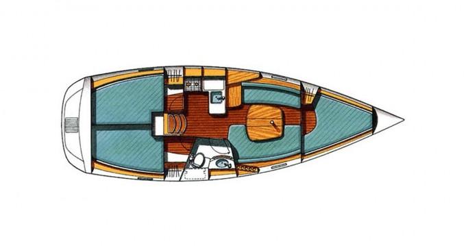 Rental Sailboat in Lávrio - Bénéteau Oceanis 331