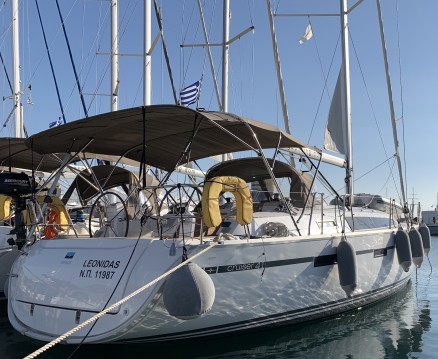 Bavaria Cruiser 41 between personal and professional Lávrio