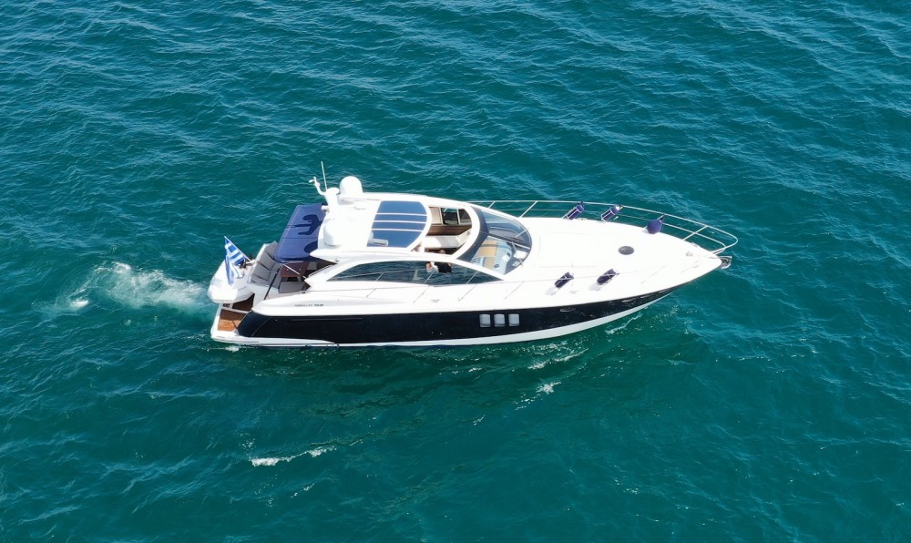 Rental Motorboat Absolute with a permit