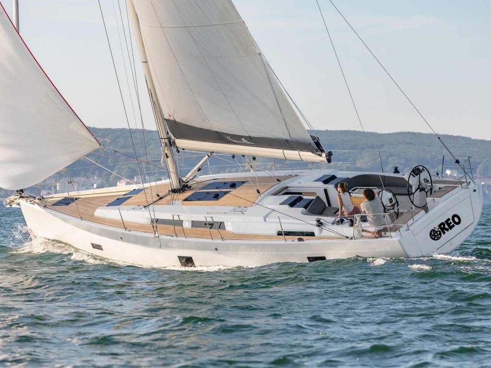 Boat rental Préveza cheap Hanse 458