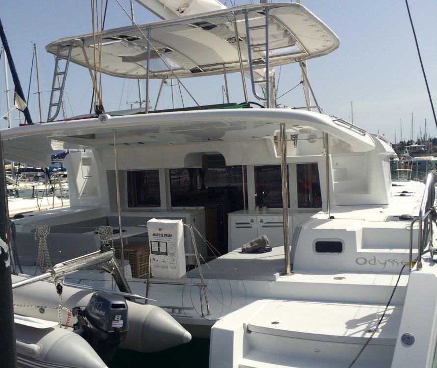 Rental yacht  - Lagoon Lagoon 450  Flybridge on SamBoat