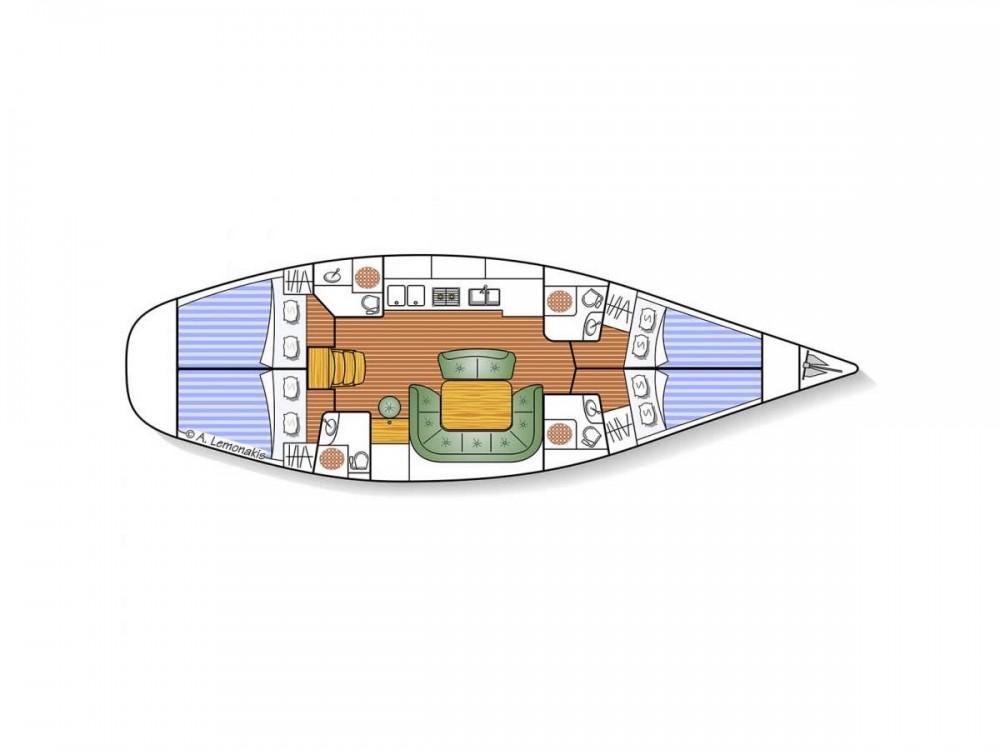 Boat rental Jeanneau Sun Odyssey 49 in Olympic Marina on Samboat