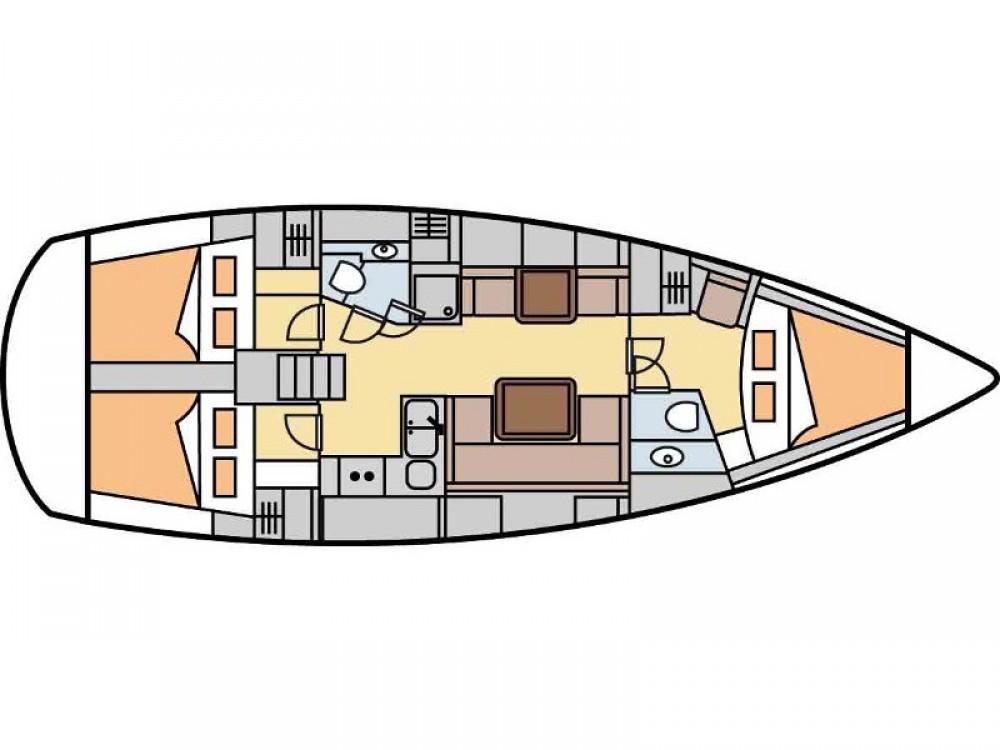 Boat rental Laurium cheap Hanse 400