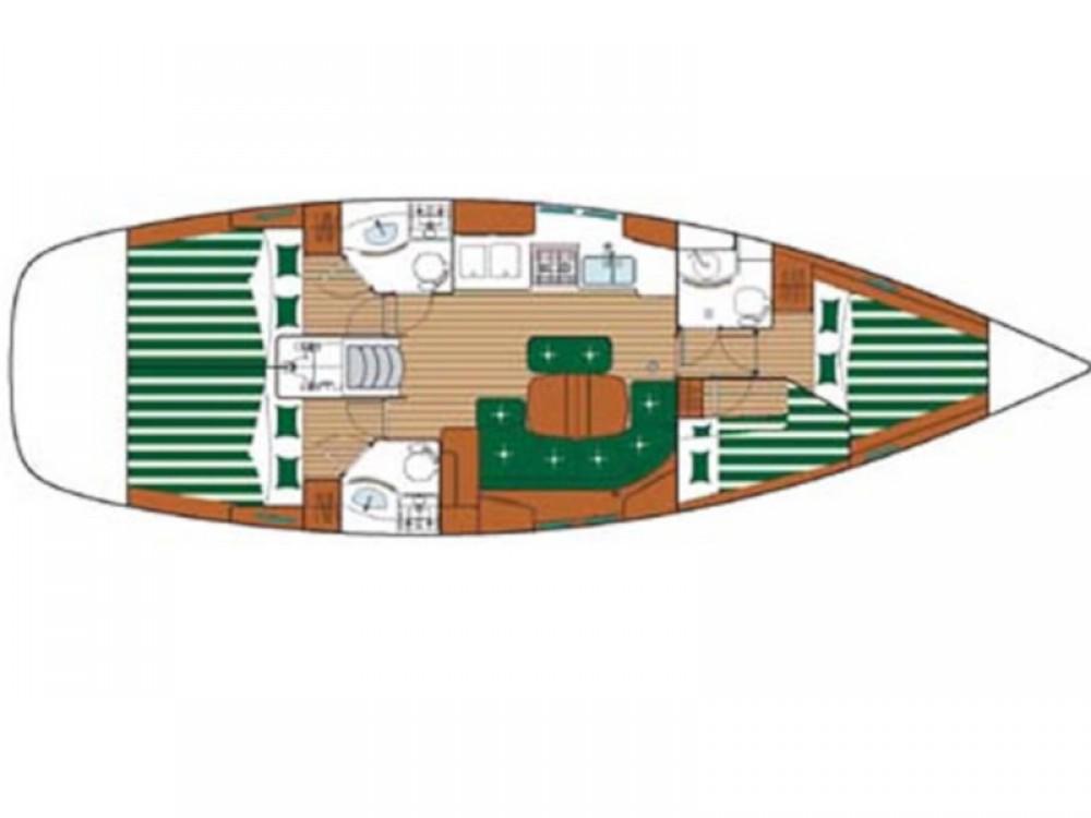 Rental Sailboat in Lávrio - Bénéteau Oceanis 423