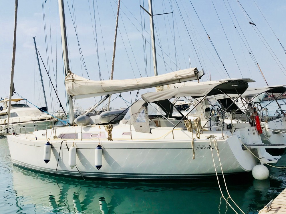 Rental Sailboat in Alimos Marina - Hanse Hanse 400