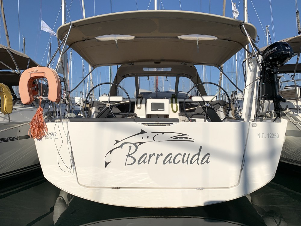 Boat rental Préveza cheap Dufour 390 Grand Large